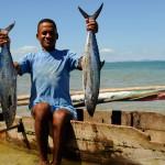 Pêcheur à Nosy Komba